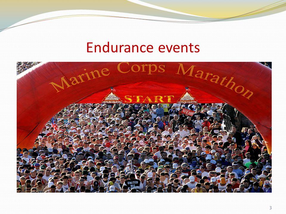 Endurance events 3