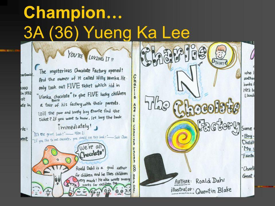 Champion … 3A (36) Yueng Ka Lee