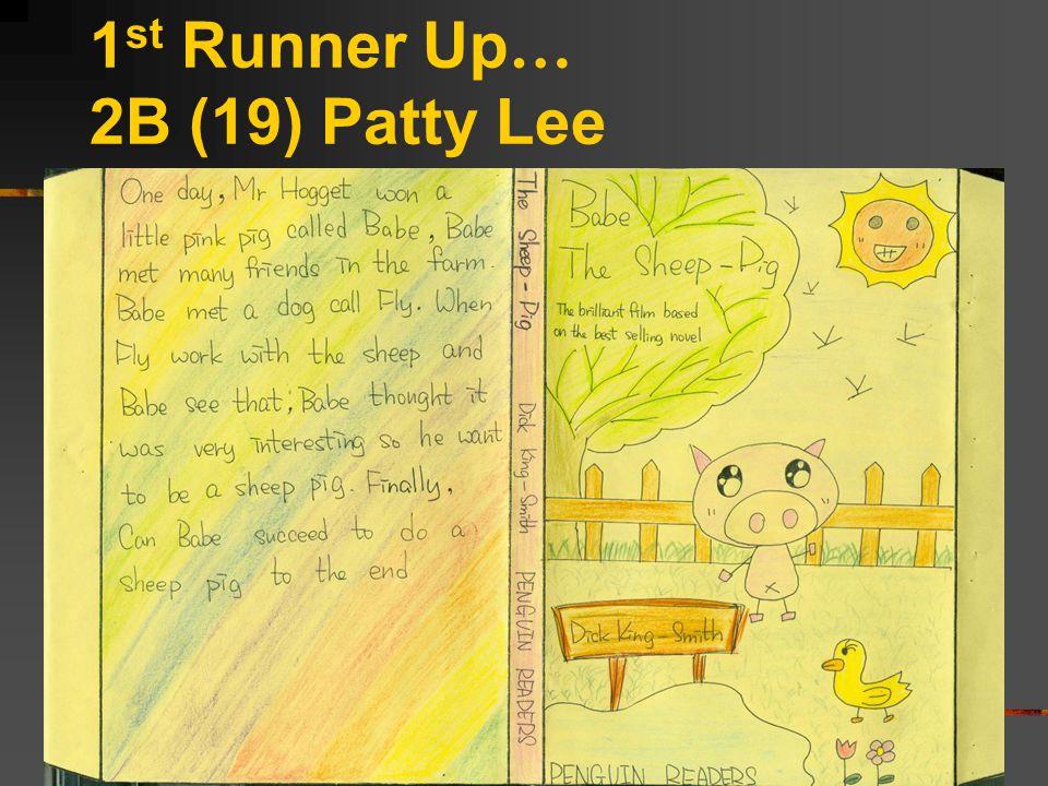 1 st Runner Up … 2B (19) Patty Lee