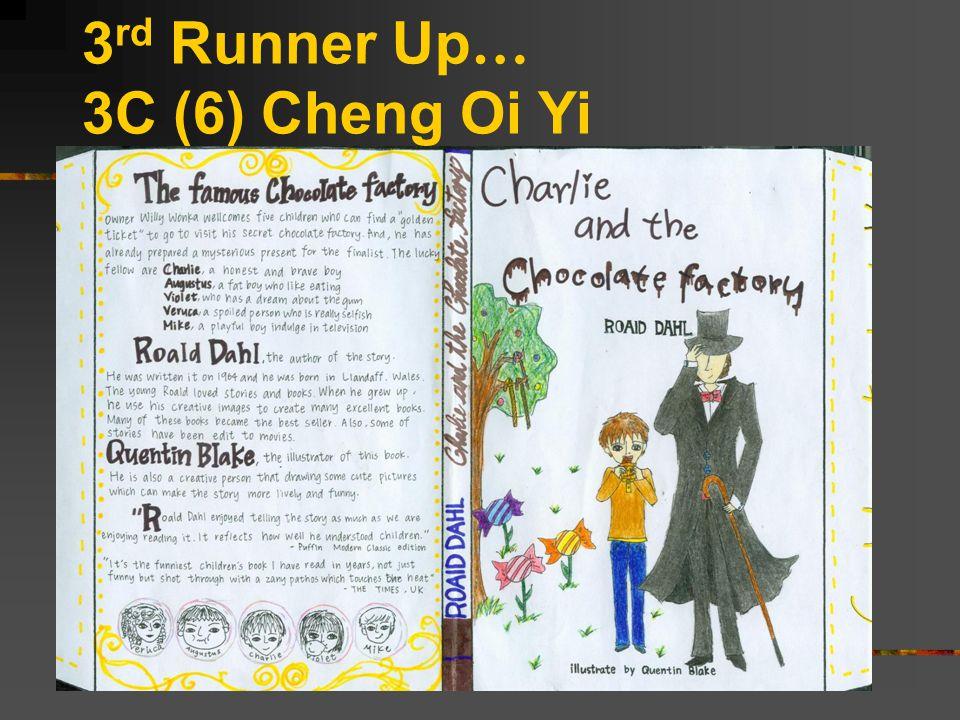 3 rd Runner Up … 3C (6) Cheng Oi Yi