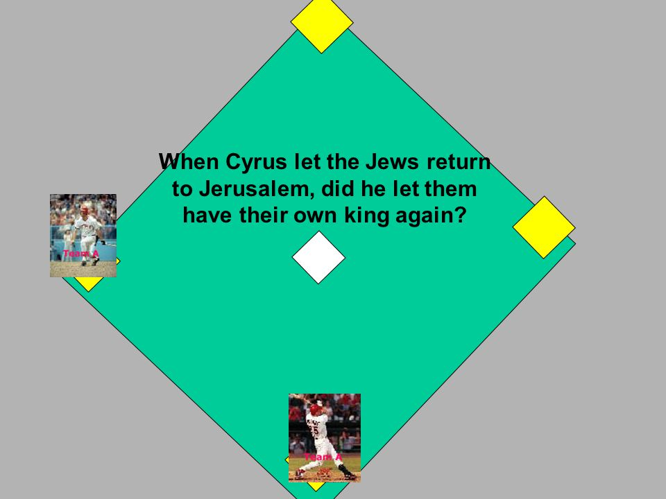 "It comes from the name ""Judah"", the southern kingdom of Israel. If you answered correctly, you have a 3 base hit! Your runner on 1st goes home. If you"