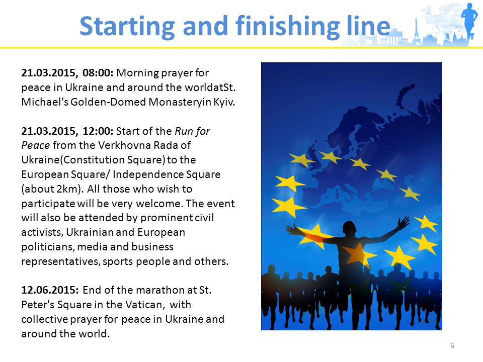 21.03.2015, 08:00: Morning prayer for peace in Ukraine and around the worldatSt.