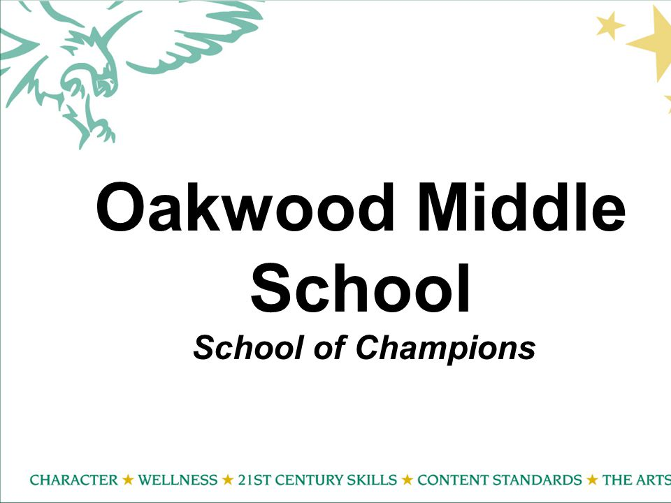 Oakwood Middle School School of Champions