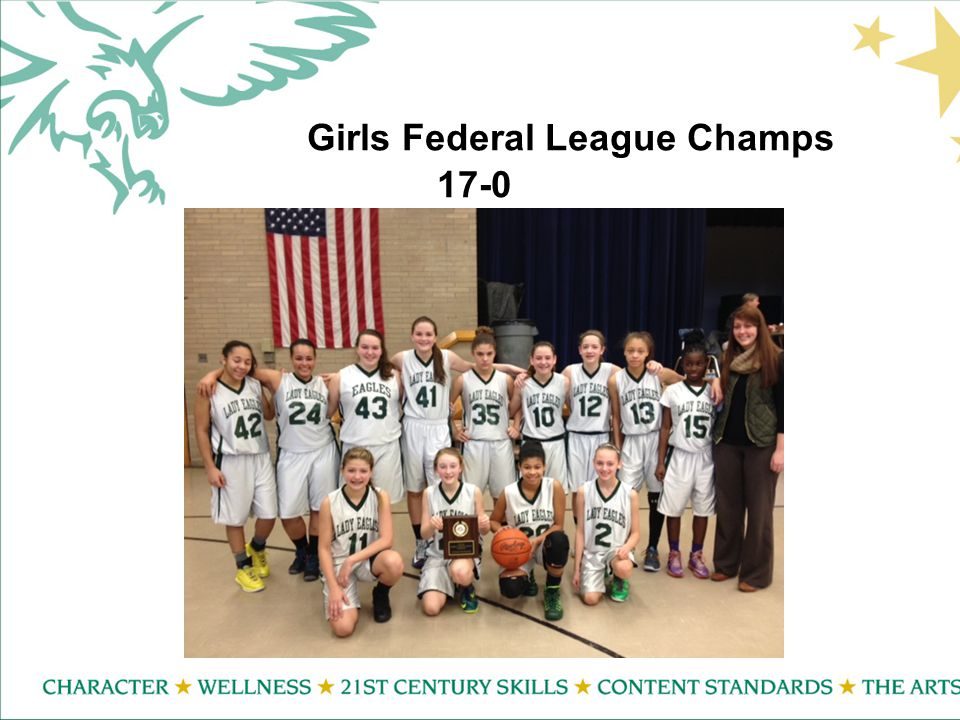 Girls Federal League Champs 17-0