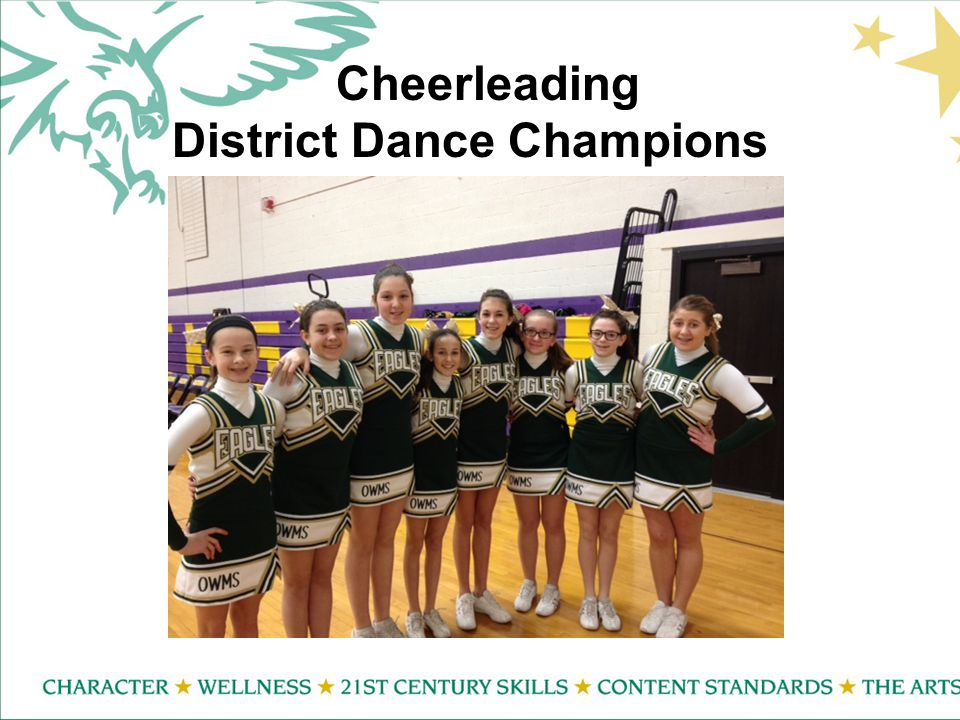 Cheerleading District Dance Champions