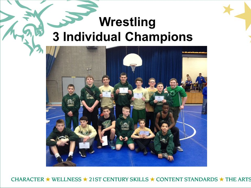 Wrestling 3 Individual Champions