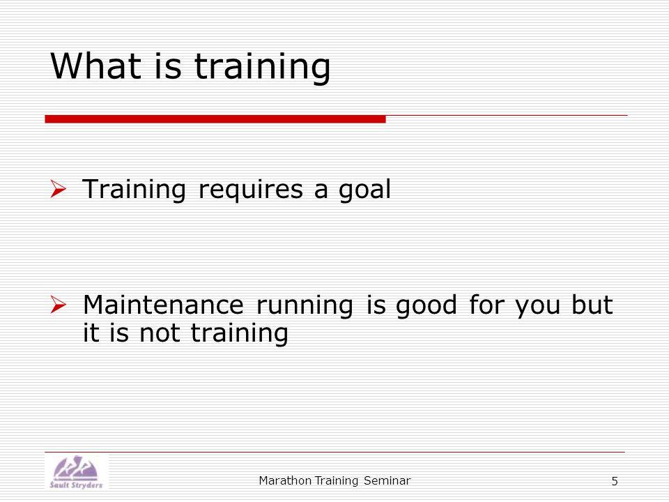 Marathon Training Seminar 26 Hard-Easy Method of Training  All runners, regardless of ability, should use the Hard-Easy method of training  What is it.
