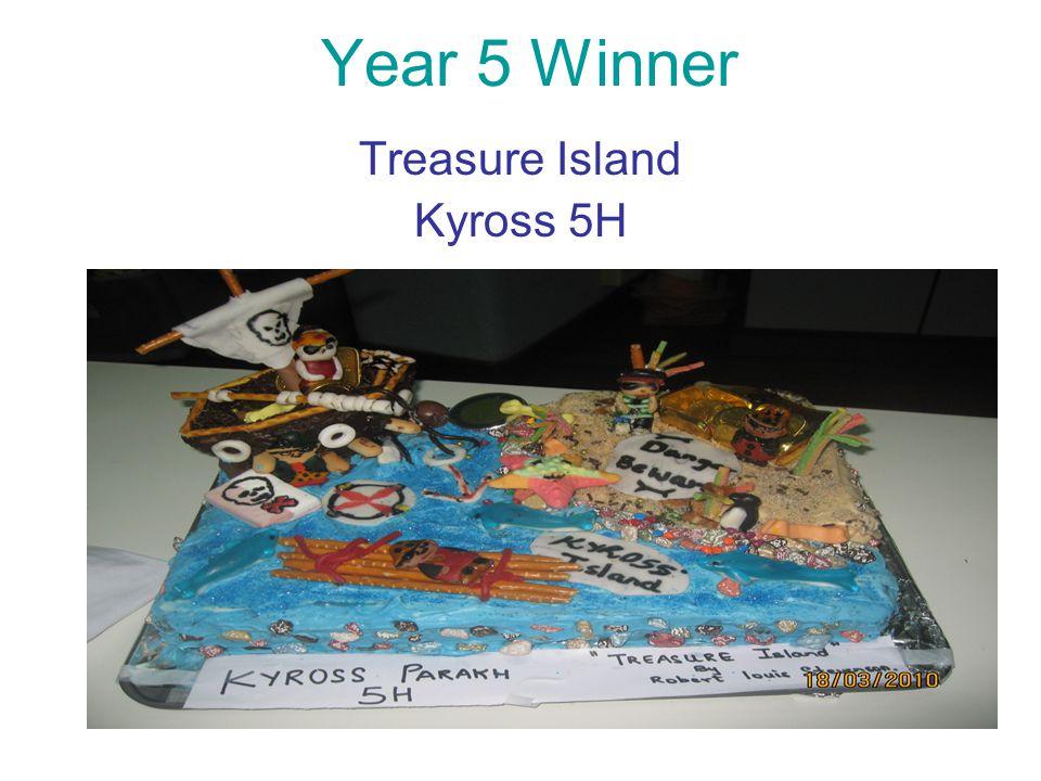 Year 5 Winner Treasure Island Kyross 5H