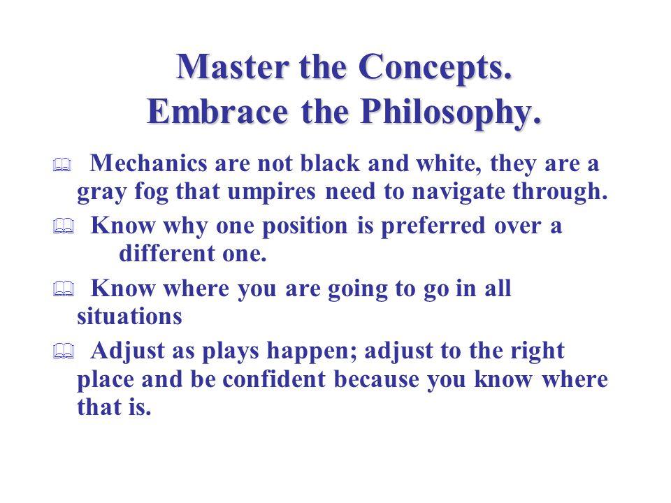 Key Mechanics Concepts Primary position Secondary position Starting position & calling depths Angle vs.
