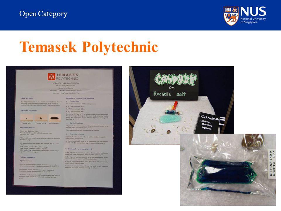 Open Category Temasek Polytechnic