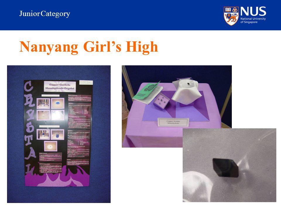 Junior Category Nanyang Girl's High