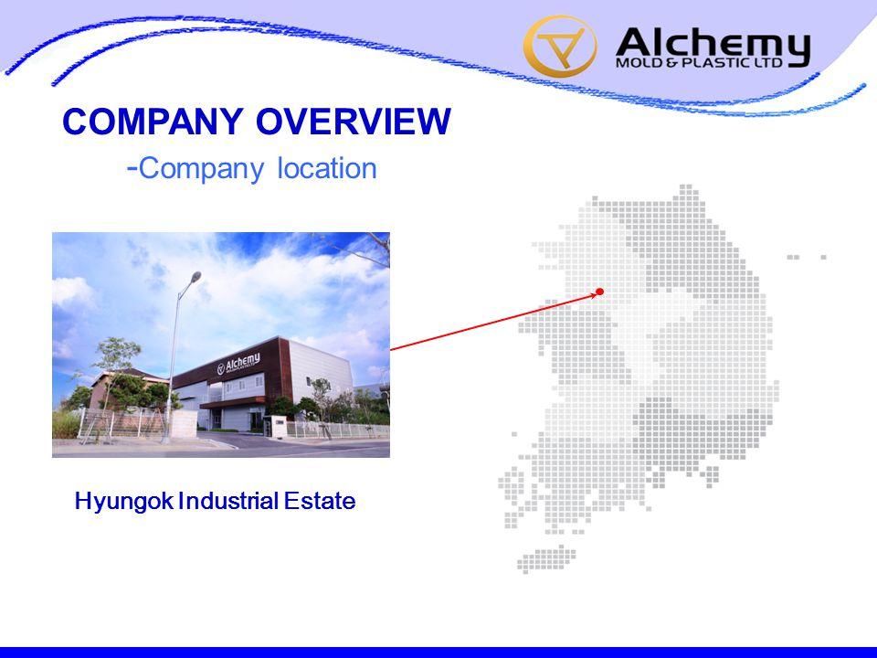 - Company location Hyungok Industrial Estate