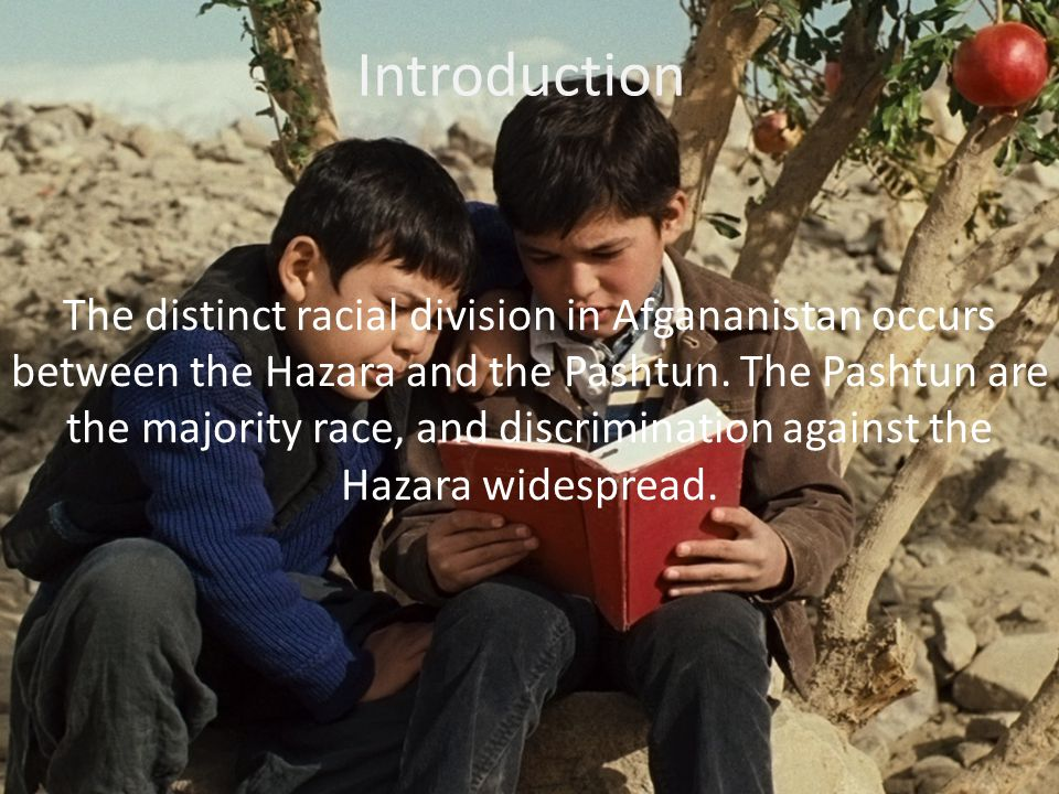 The Hazara's are more easily identified in the novel because the Pashtun despise the Hazara's and treat them like dogs.