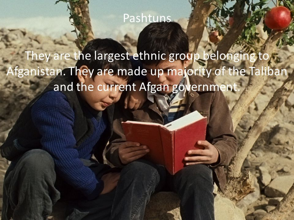 The characters that are Pashtuns are Assif, Amir.