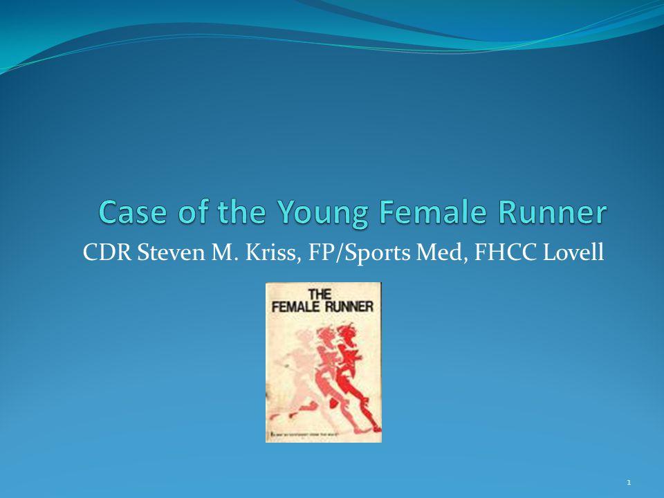 CDR Steven M. Kriss, FP/Sports Med, FHCC Lovell 1