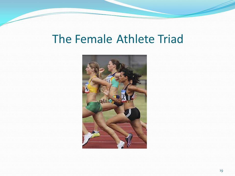 The Female Athlete Triad 19