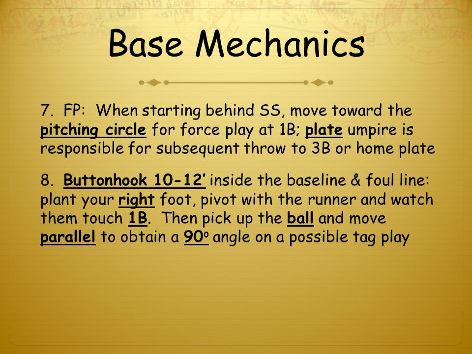 Base Mechanics 7.