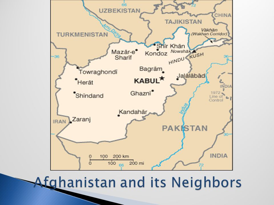  Afghanistan is part of central Asia, not the Middle East  Due to various invasions, Afghanistan has been influenced by many cultures: Greek, Arab (Muslim), Persian, Mongol  Afghans are multiethnic, generally not Arabs  The Hazaras (Mongol descendents) have long been persecuted for their ethnicity and Shiite religion; most Afghans are Pashtuns (Sunni Muslims)  Afghanistan has a long history of interference by foreign powers: Great Britain, Soviet Union, US  US supported Afghan rebels (mujahedin) in their fight against Soviet invasion in 1979