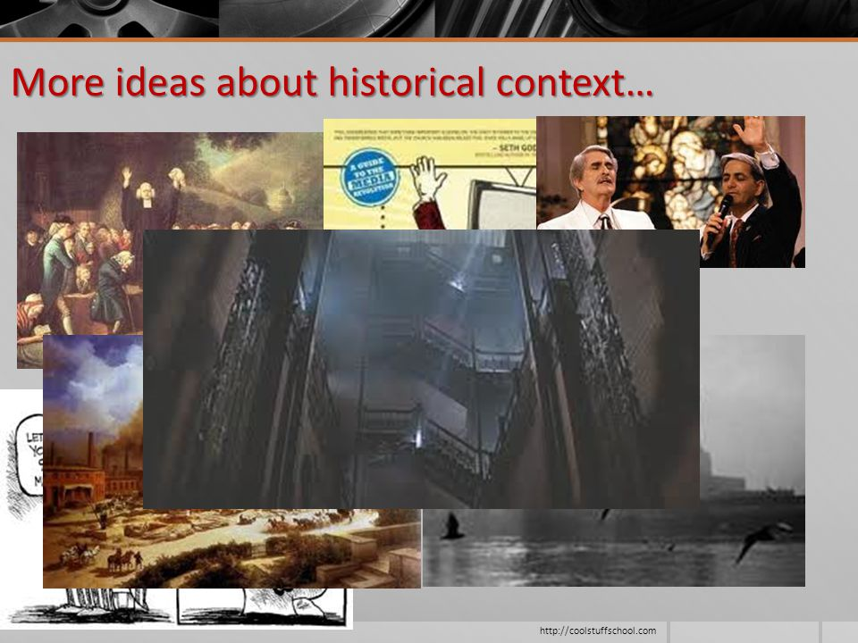 More ideas about historical context… http://coolstuffschool.com