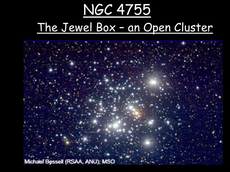 NGC 4755 The Jewel Box – an Open Cluster
