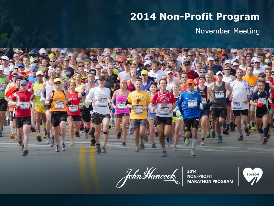 November Meeting 2014 Non-Profit Program