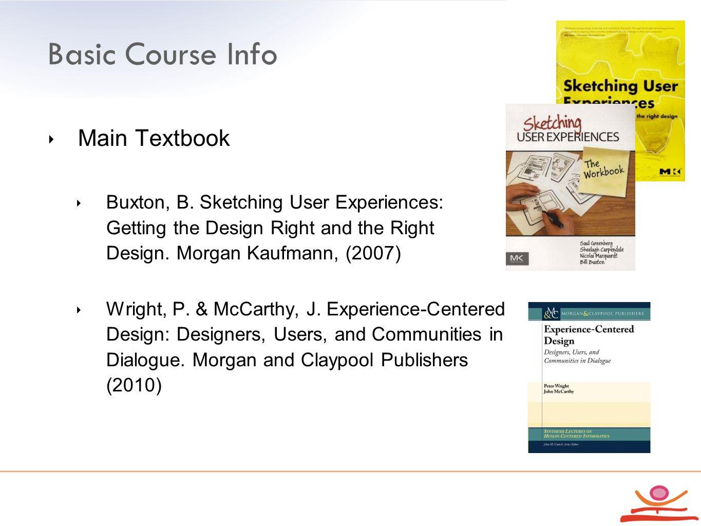 Basic Course Info ‣ Main Textbook ‣ Buxton, B.