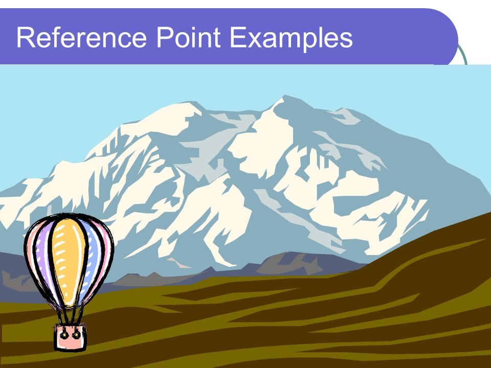 Reference Point Examples