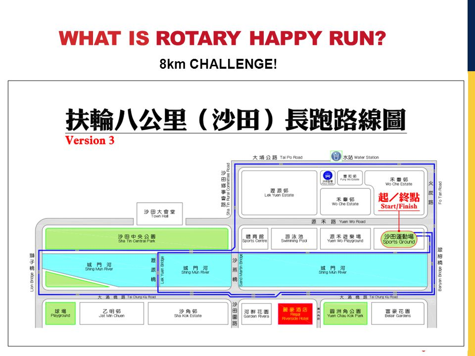 WHAT IS ROTARY HAPPY RUN 8km CHALLENGE!