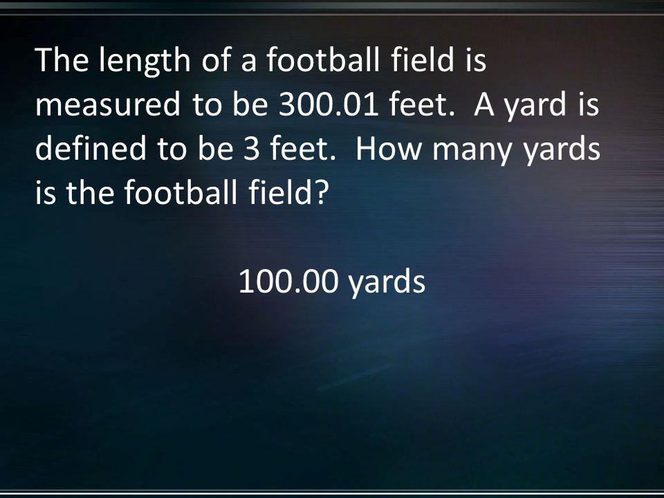 100.00 yards