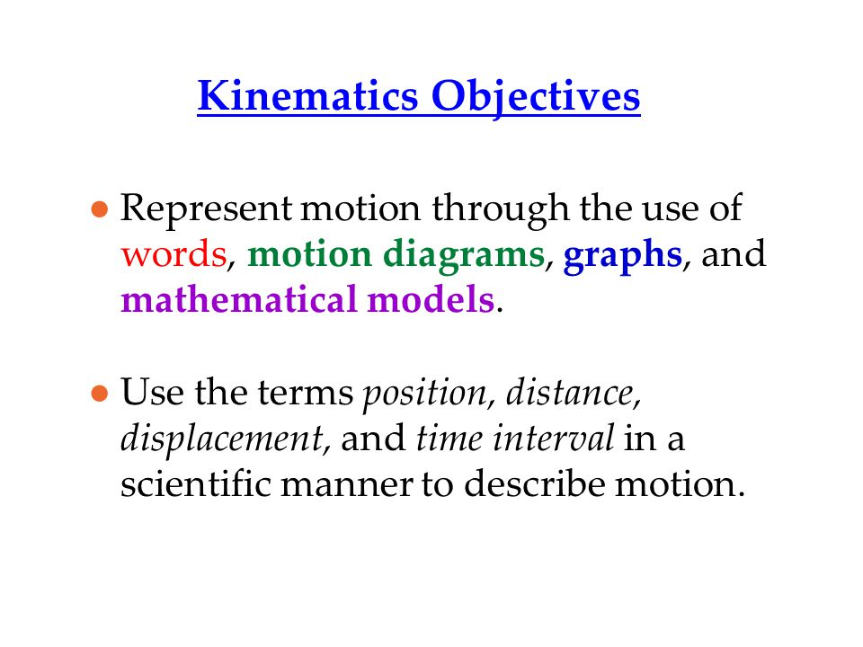Displacement Has magnitude (size) and direction.