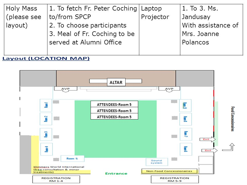 Senti Moment1.To turn off lights 2. To execute segment (pls see layout) 3.