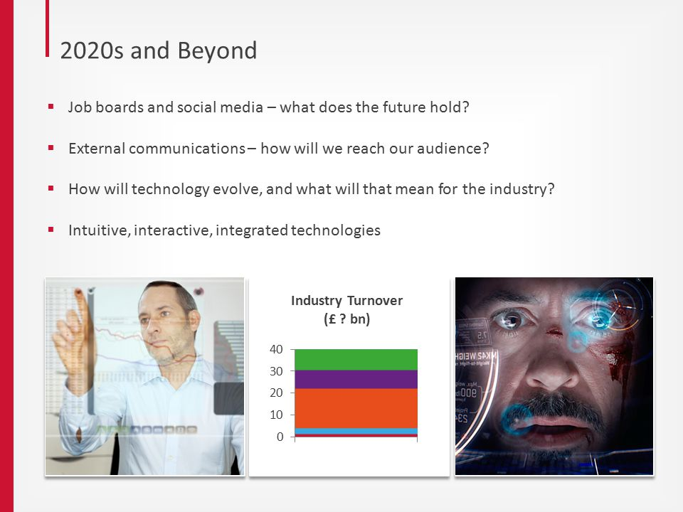 2020s and Beyond  Job boards and social media – what does the future hold.