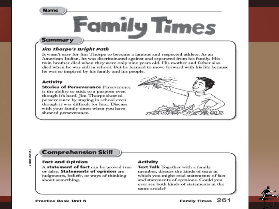 STUDY SKILLSSTUDY SKILLS Genre: Biography Comprehension Skill: Fact and Opinion Comprehension Strategy: Text Structure Comprehension Review Skill: Graphic Sources Vocabulary: Dictionary and Glossary
