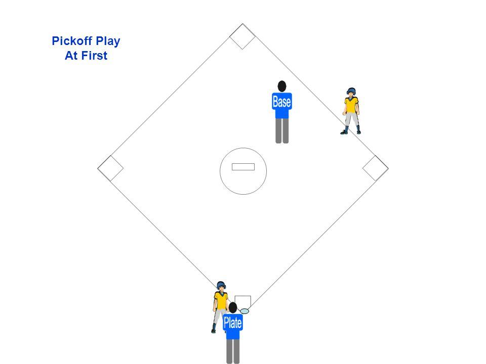 Pickoff Play At First