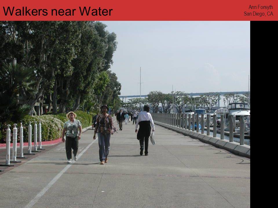 www.annforsyth.net Walkers near Water Ann Forsyth San Diego, CA