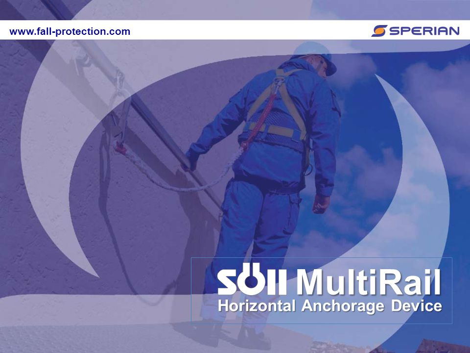 www.fall-protection.com MultiRail Horizontal Anchorage Device www.fall-protection.com