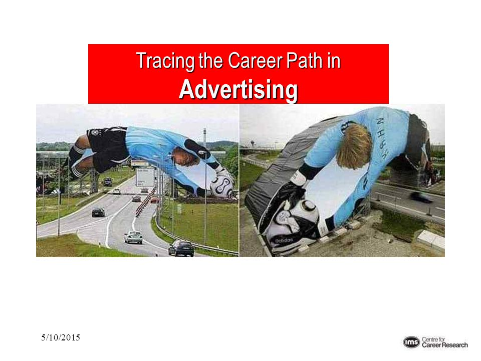 5/10/2015 Tracing the Career Path in Advertising