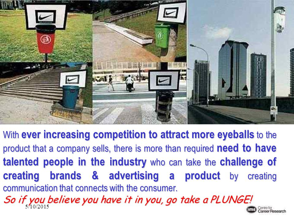 5/10/2015 With ever increasing competition to attract more eyeballs to the product that a company sells, there is more than required need to have tale