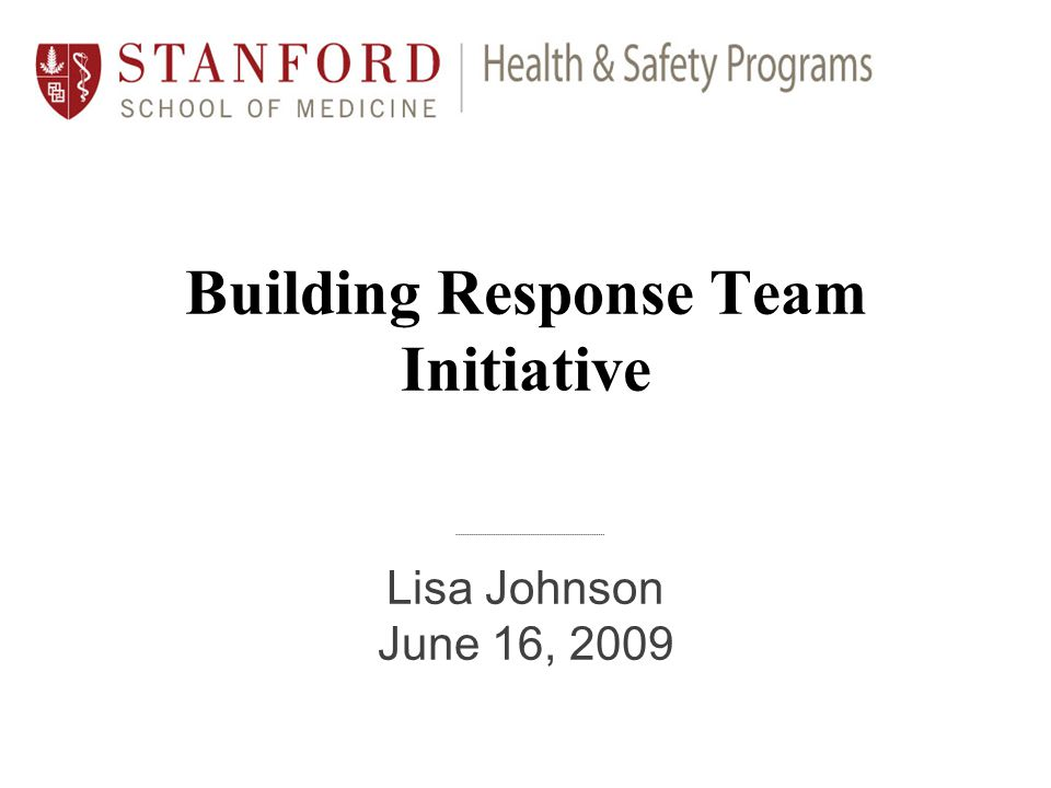Findings from 2008/2009 Exercises Lack of knowledge on basic emergency procedures No centralized building emergency team in some cases Security services will be limited Department emergency personnel unsure how to apply emergency procedures More focus on life safety needed