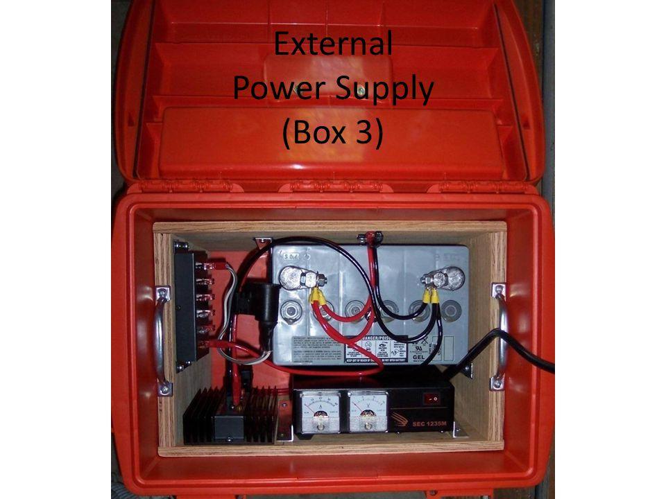 External Power Supply (Box 3)
