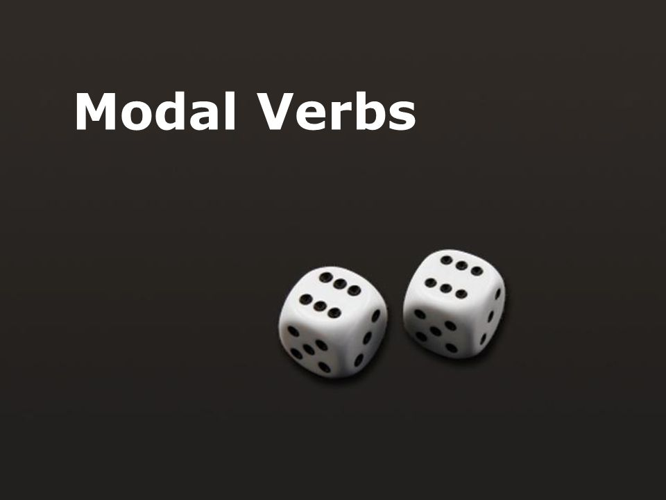 Page 1 Modal Verbs