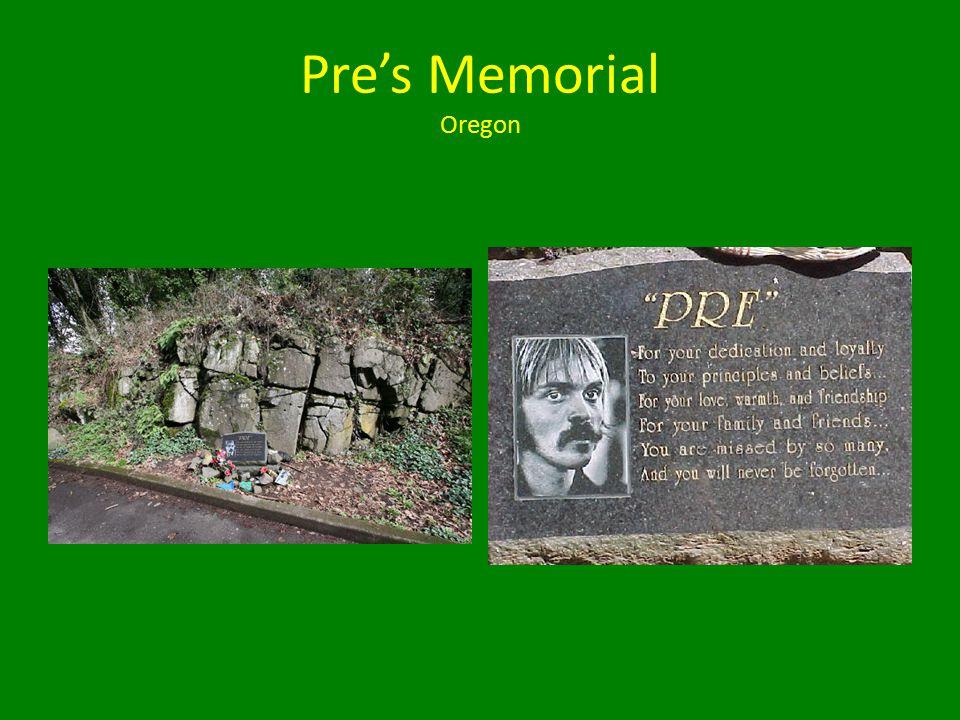 Pre's Memorial Oregon