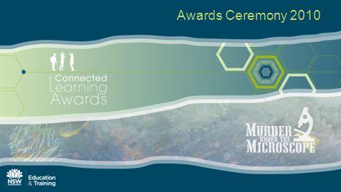 2010 Murder under the Microscope Awards