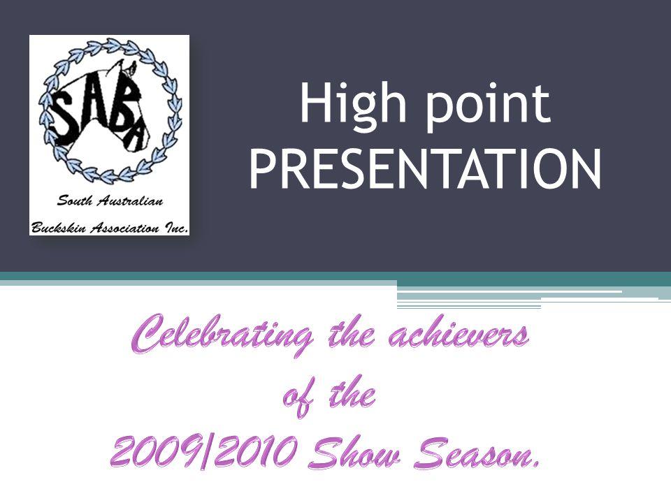 High point PRESENTATION