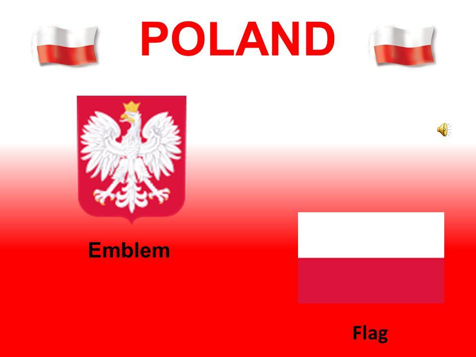 POLAND Emblem Flag