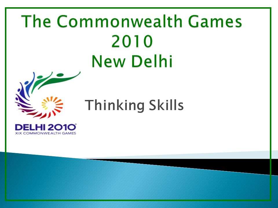  With a friend, present a 5min lesson to the class about a lesser known Commonwealth Games event.