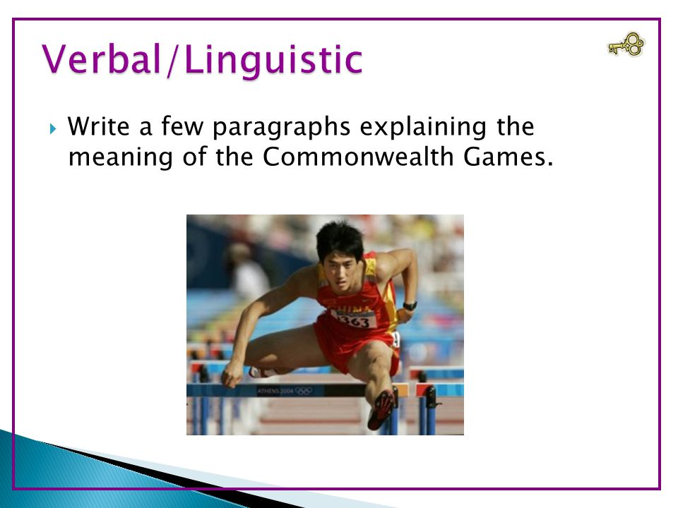  Write a few paragraphs explaining the meaning of the Commonwealth Games.