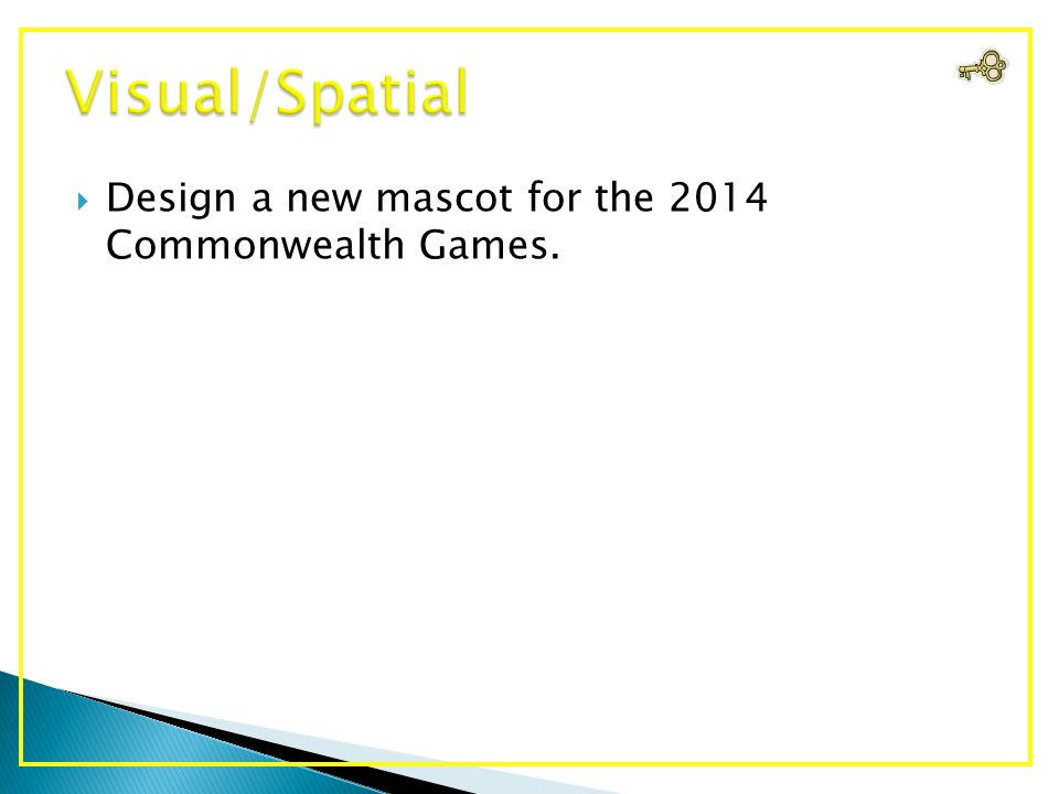  Design a new mascot for the 2014 Commonwealth Games.