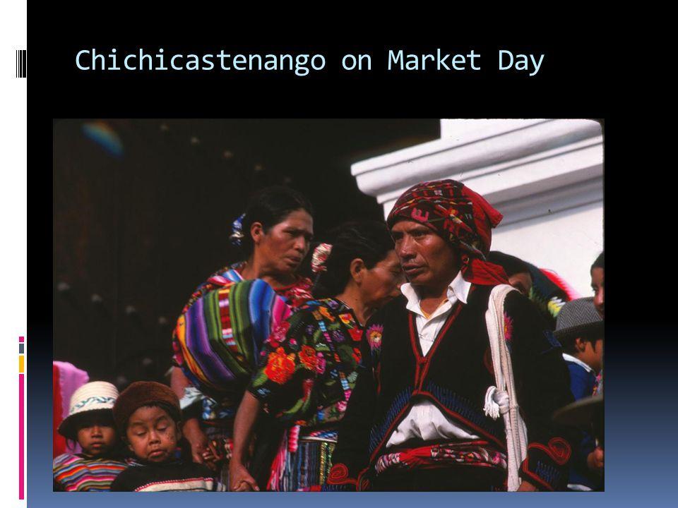 Chichicastenango on Market Day