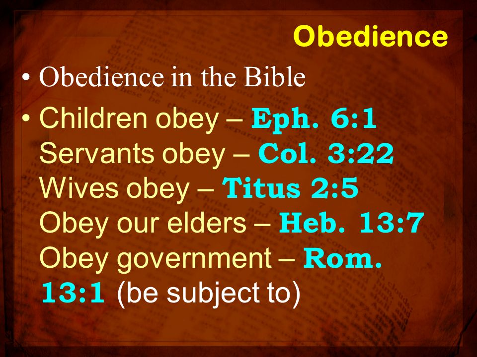 Have you obeyed the Gospel? Are you obeying the Gospel?